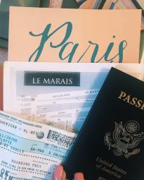 paris - passport