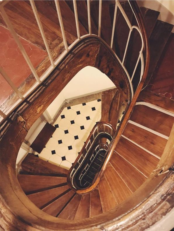 paris - staircase